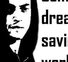 Saving the World Sticker