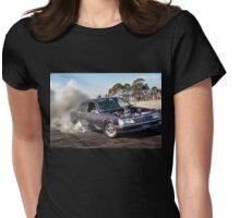 HIZNHERZ Burnout Womens Fitted T-Shirt