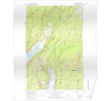 USGS Topo Map Washington State WA Belfair 239986 1953 24000 Poster