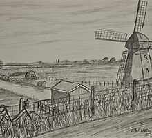The Windmill by Tricia Winwood