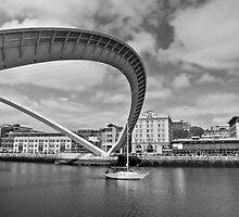 Swan arch to sail's journey by clickinhistory