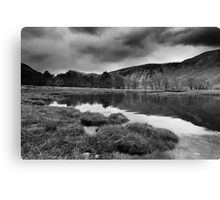 Stormy Loch Etive BW Canvas Print