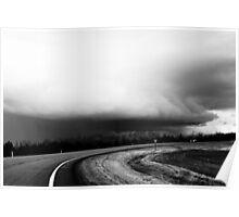 Thunder Heads on Hwy 63 Alberta Poster