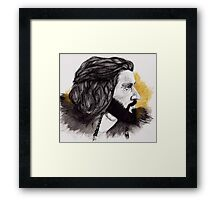 Thorin Oakenshield - King Under the Mountain  Framed Print