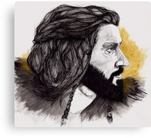 Thorin Oakenshield - King Under the Mountain  Canvas Print