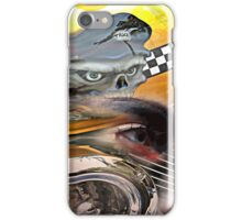 TAXI-LADY iPhone Case/Skin