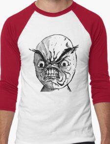 RAGE TROLL Men's Baseball ¾ T-Shirt