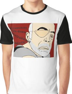 XO of the Battlestar Galactica, Colonel Saul Tigh Graphic T-Shirt
