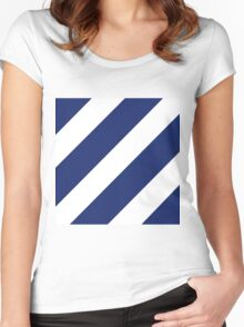 Third Infantry Division (3ID) Insignia Women's Fitted Scoop T-Shirt