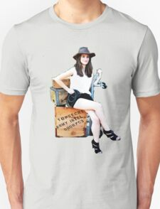 Geeky Pin-Up: Archaeologist  T-Shirt