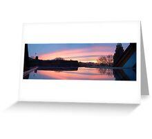 Sunrise over Pallington Heath Greeting Card