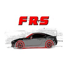 FR-S Wall Graffiti Photographic Print