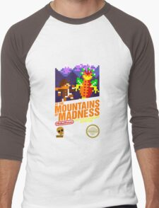 At the Mountains of Madness Men's Baseball ¾ T-Shirt