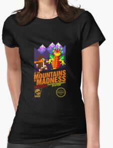At the Mountains of Madness Womens Fitted T-Shirt