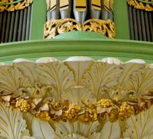 Pipe organ in Deventer, the Netherlands Sticker
