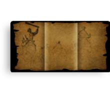 Parchment scam Canvas Print
