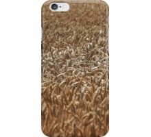 Golden Wheat Field iPhone Case/Skin