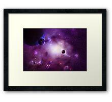 Nebula Cluster Framed Print