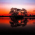 The Lakes at Sunset by Arfan Habib