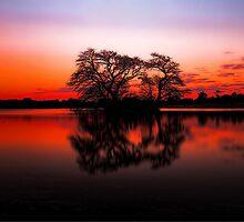 The Lakes at Sunset by Arfan Habib