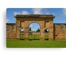 Kingston Gaol, Norfolk Island Canvas Print