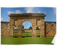 Kingston Gaol, Norfolk Island Poster