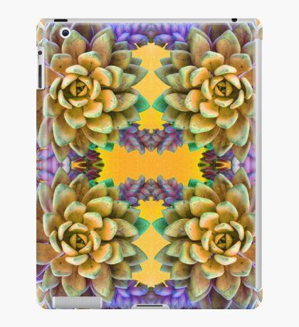 Succulent Weave 2.0 iPad Case/Skin