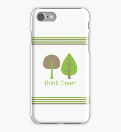 Think Green iPhone Case iPhone Case/Skin