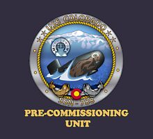 SSN-788 Pre-Commissioning Unit Crest for Dark Colors T-Shirt