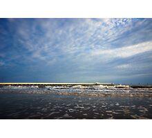 Sunlit Shorncliffe Pier Photographic Print