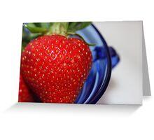 Strawberry Dream Greeting Card