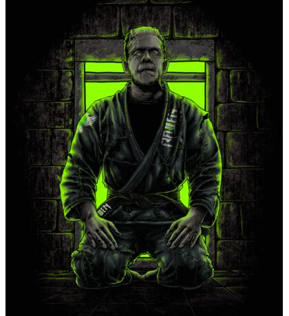 BJJ Frankenstein Sticker