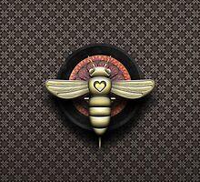 Bee Cyborg V1 by Yanko Tsvetkov