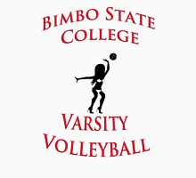 Bimbo State College Varsity Volleyball Womens Fitted T-Shirt