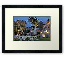 Elegant Ellerman Framed Print