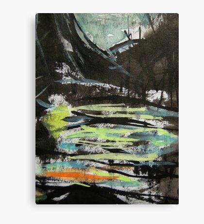 pass....near side swamp Canvas Print