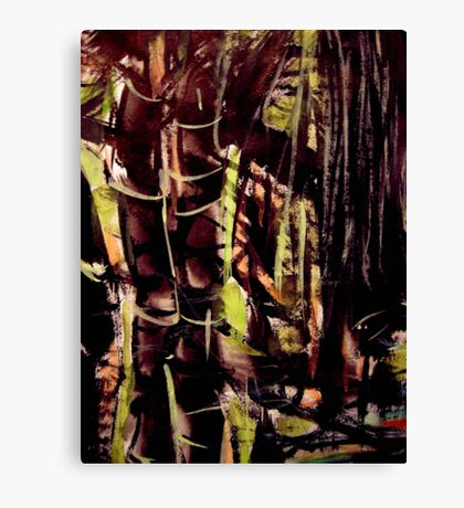 pass....bamboo grove #8 Canvas Print