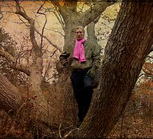 The Pink Scarf by MotherNature