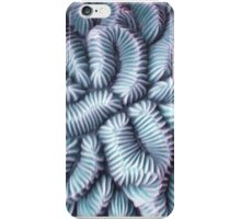 Pic Your Brain Coral (Charged) iPhone Case/Skin