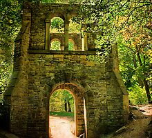Through the Arch. by Irene  Burdell