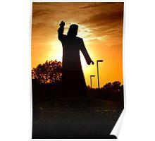 Jesus In The Garden Poster