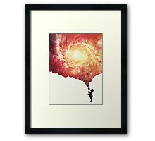 The universe in a soap-bubble! Framed Print