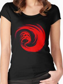Giygas Women's Fitted Scoop T-Shirt