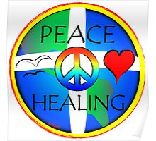 PEACE HEALING Poster