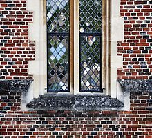 Tudor Window by Karen E Camilleri