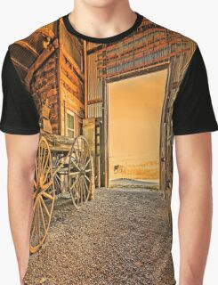 1880 Town Barn Graphic T-Shirt