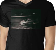 WRNYOU Burnout Mens V-Neck T-Shirt