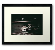 WRNYOU Burnout Framed Print