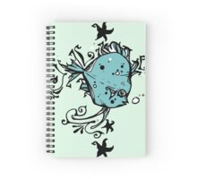 Ditzy Discus Spiral Notebook