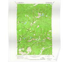 USGS Topo Map Washington State WA Labyrinth Mtn 241837 1965 24000 Poster
